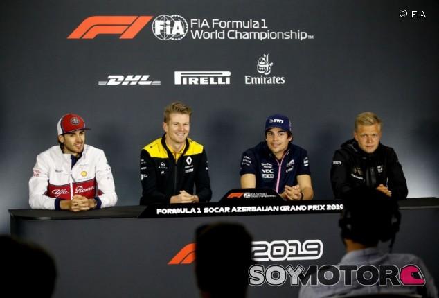 GP de Azerbaiyán F1 2019: Rueda de prensa del jueves