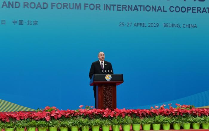 """Ilham Aliyev:   """"Azerbaiyán cuenta con una armada muy grande en el mar Caspio"""""""