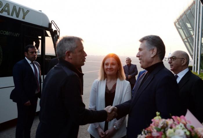 Argentine parliament speaker arrives in Azerbaijan on official visit