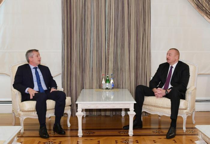 Ilham Aliyev receives president of Argentine Chamber of Deputies - UPDATED