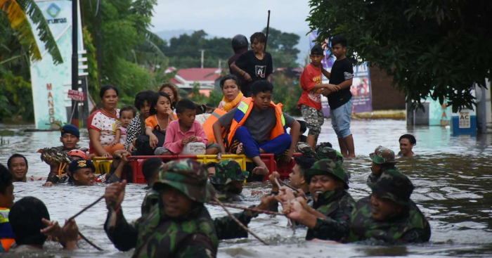 Death toll from Indonesia