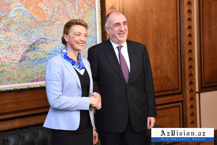 Azerbaijani FM meets his Croatian counterpart - PHOTOS