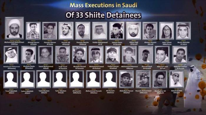 El mundo condena la ejecución en masa de 37 disidentes saudíes