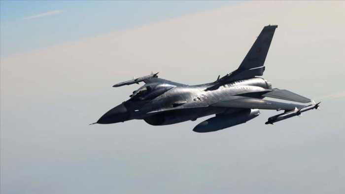 Turkish war jets strike 14 PKK terrorists in N.Iraq
