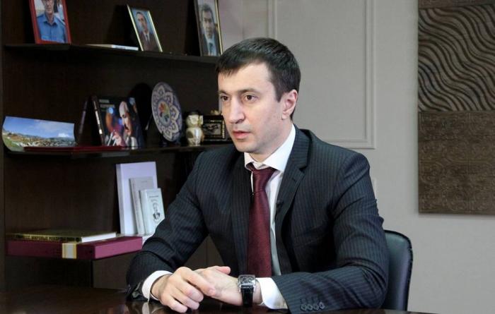 Nazir Osman Xasbulatov saxlanılıb
