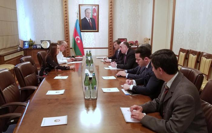 Azerbaijani FM Mammadyarov receives president of Inter-Parliamentary Union