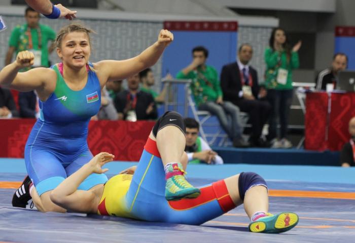 Azerbaijani female wrestler becomes European champion