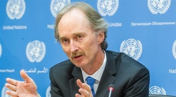 المبعوث الأممي يصل دمشق