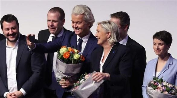 الأحزاب اليمينية بالاتحاد الأوروبي ستشغل 23% من مقاعد البرلمان