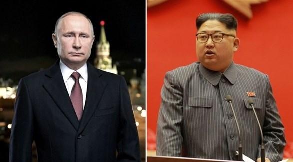قمة بين بوتين وكيم يلتقيان في نهاية أبريل الجاري