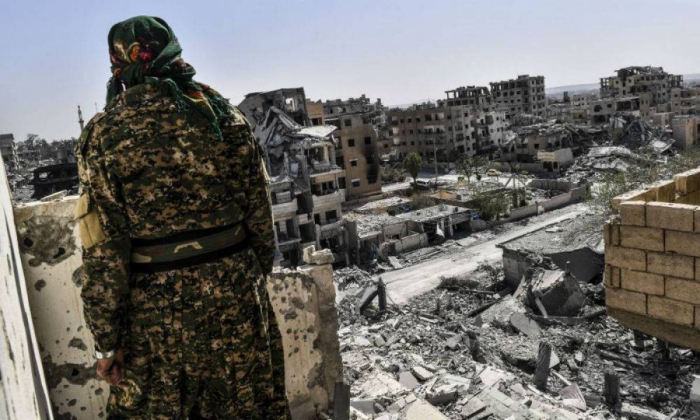 Syrie :   la coalition anti-EI a tué 1.600 civils à Rakka durant son offensive en 2017