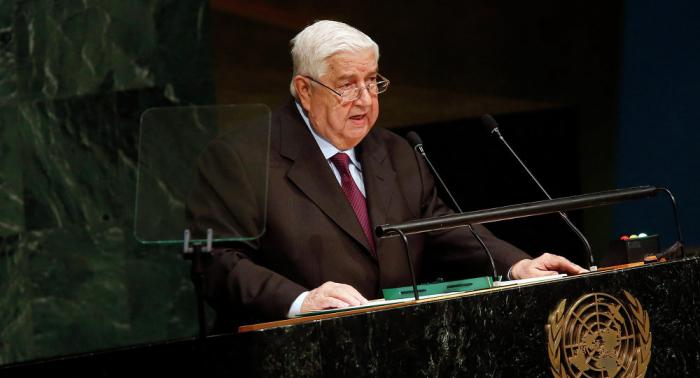 الخارجية السورية: المعلم وبيدرسون يبحثان جهود إحراز تقدم على المسار السياسي للأزمة السورية