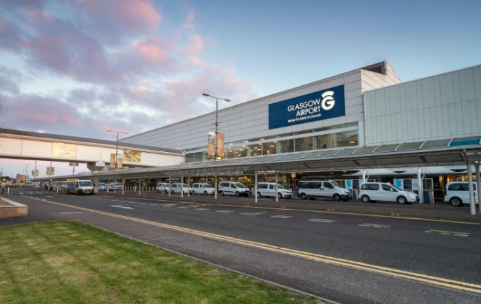 Glasgow Airport suspend all flights because of