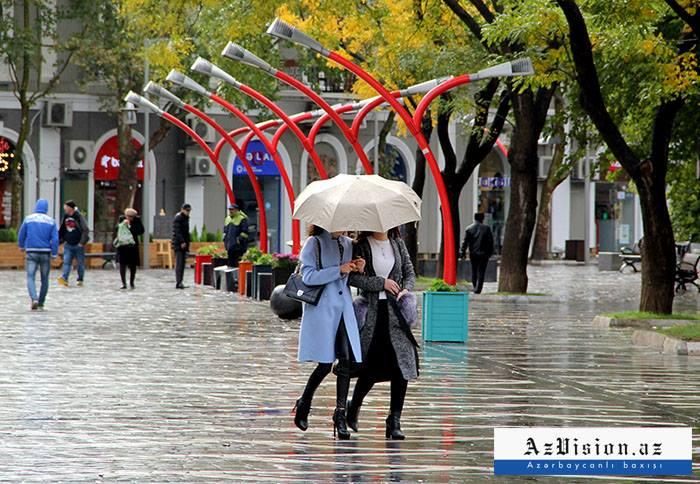 Sabah da yağış yağacaq - Proqnoz