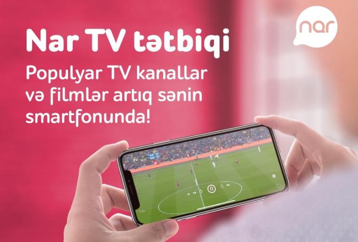 """""""Nar TV"""" ilə filmlər və seriallar Azərbaycan dilində"""