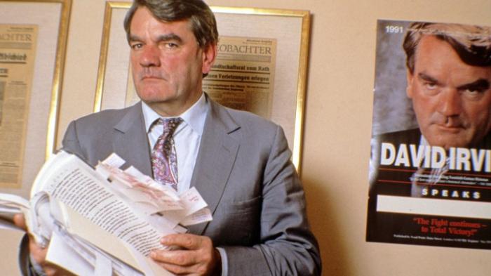 Einreiseverbot gegen Holocaust-Leugner Irving