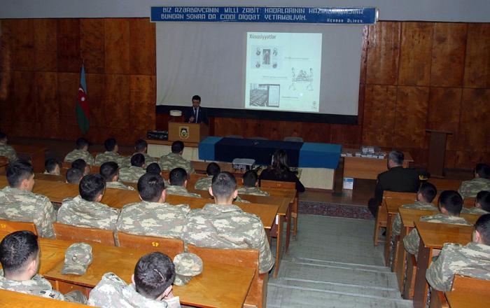 Ali Hərbi Məktəbdə seminar keçirilib - FOTO