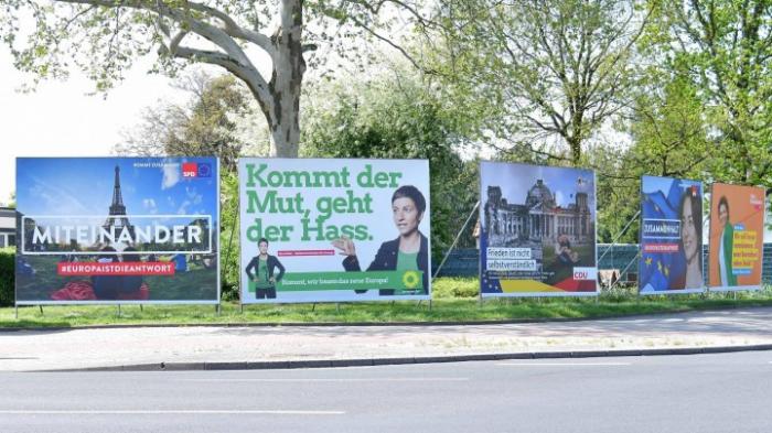 Diskussion über Europawahlkampf