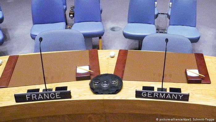 UN Security Council: Germany, France share presidency