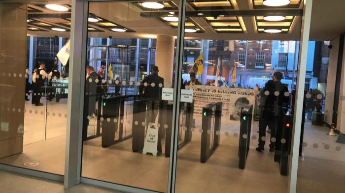 PKK supporters attempt to raid TRT World's London office