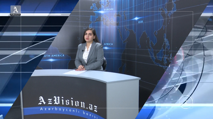 AzVision TV releases news edition of news in English for April 4 -  VIDEO