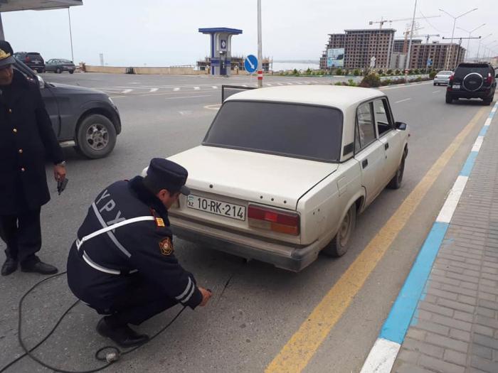 DYP-dən növbəti reyd: 50 avtomobil saxlanılıb