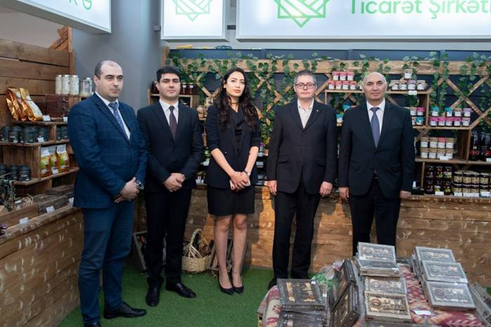 Çexiya iş adamları Aqrar Ticarət Şirkətində - Fotolar