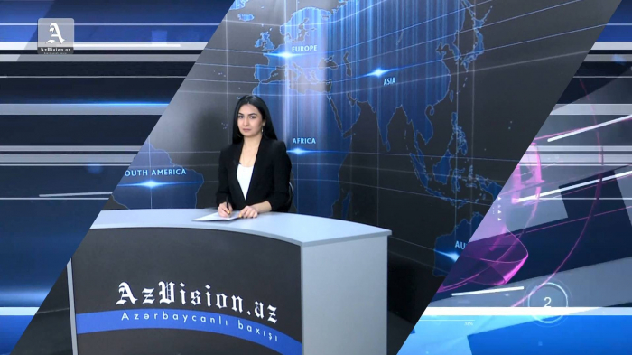 AzVision TV releases new edition of news in German for April 9 -  VIDEO