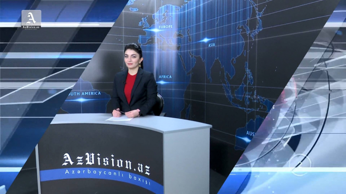 AzVision TV releases new edition of news in English for April 9 -   VIDEO