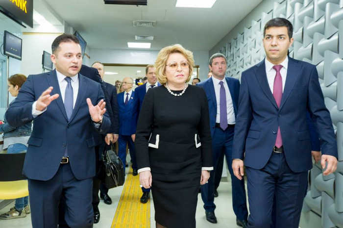 Chairwoman of the Federation Council of Russia visited