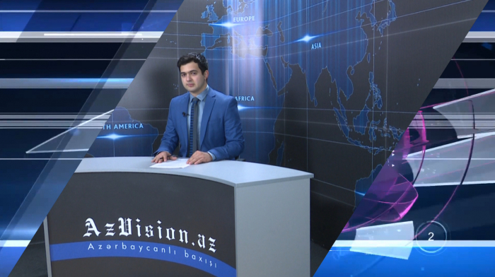 AzVision TV releases new edition of news in German for April 16 -  VIDEO