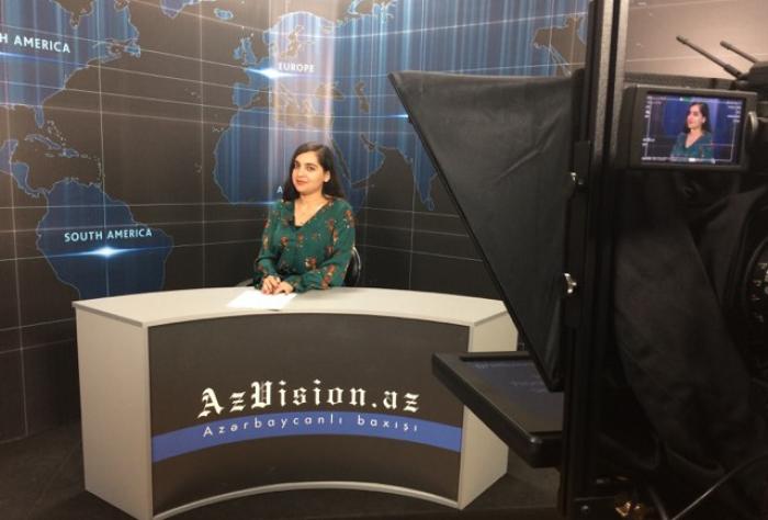 AzVision TV:  Die wichtigsten Videonachrichten des Tages auf Englisch  (25. April)-VIDEO