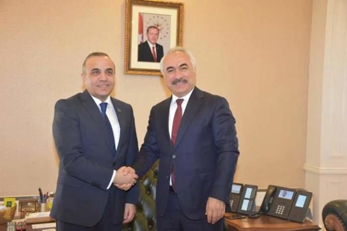 Azay Quliyev Ankarada görüşlər keçirib