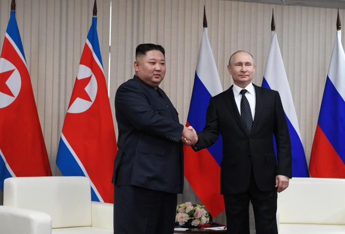 VIDEOS/FOTOS:  Arranca la histórica cumbre entre Kim Jong-un y Vladímir Putin en el Lejano Oriente ruso