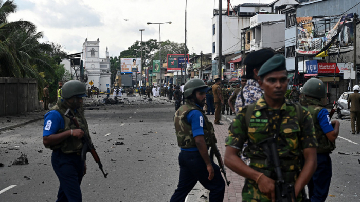 Cierran la sede del banco central de Sri Lanka por amenaza de bomba