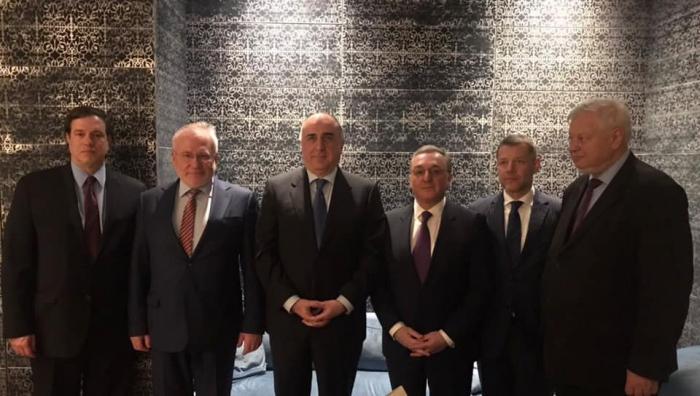 سيجتمع اليوم وزيرا الخارجية الأذربيجاني والأرمني