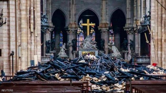 """جمع مبلغ """"هائل"""" لترميم كاتدرائية نوتردام"""