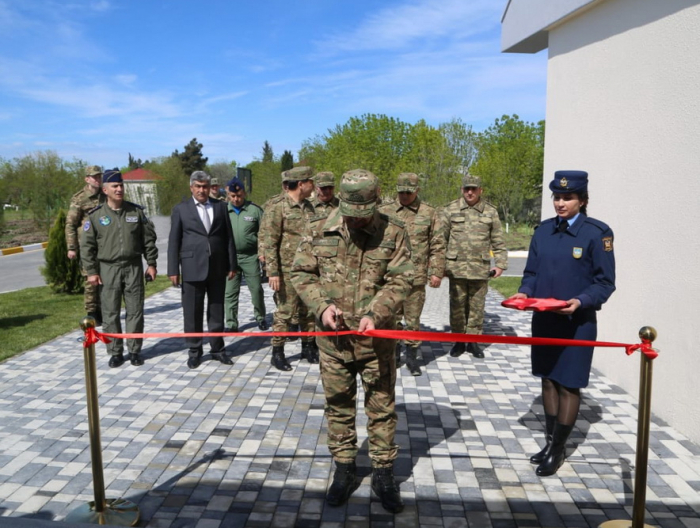 Defense Minister takes part in opening of a new command post of Air Force Base -   VIDEO, PHOTOS
