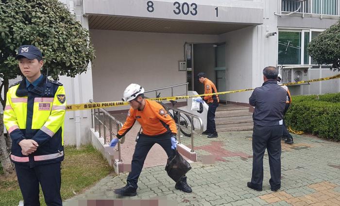 Koreya sakini öz evini yandırdı, sonra 5 qonşunu öldürdü