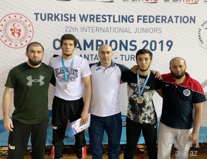 Güləşçilərimiz Antalyada daha 4 medal qazanıb