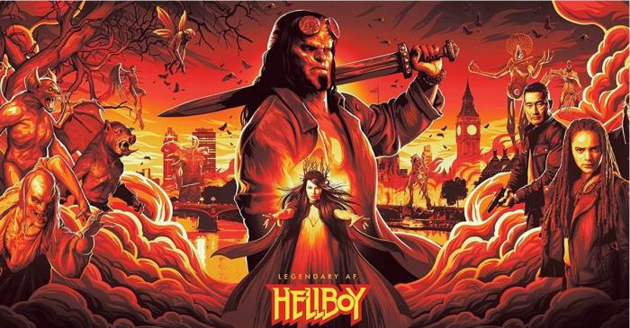 """""""Hellboy"""" fantastik filmi azərbaycan dilində """"CinemaPlus""""-da"""