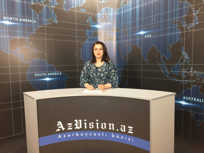AzVision TV releases news edition of news in English for April 3 -  VIDEO