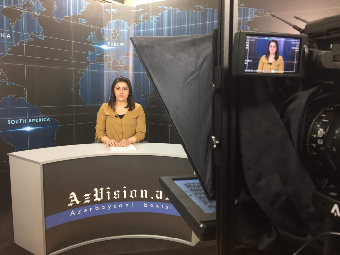 AzVision TV releases news edition of news in English for April 5 -  VIDEO