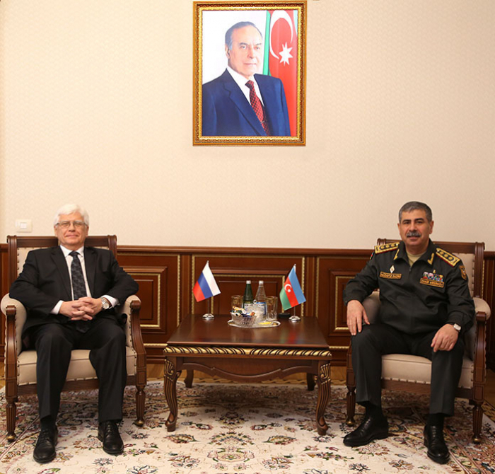 Azerbaijan, Russia discuss prospects for development of military co-op