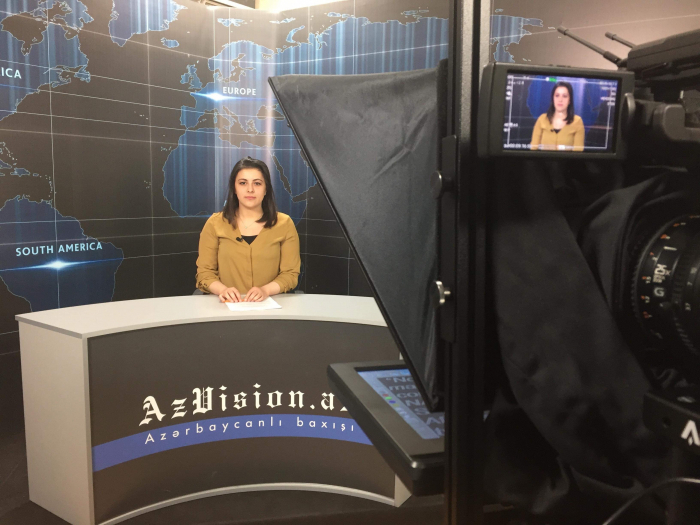 AzVision TV releases news edition of news in English for April 11 -  VIDEO