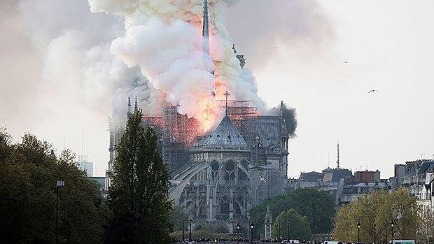 Fire devastates Notre-Dame Cathedral, centuries-old Parisian landmark - UPDATED