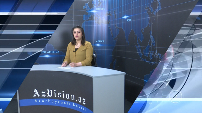 AzVision TV releases new edition of news in English for April 24 - VIDEO