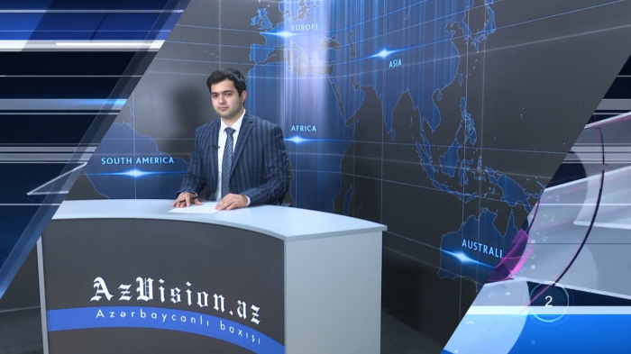AzVision TV releases new edition of news in German for April 26 -  VIDEO