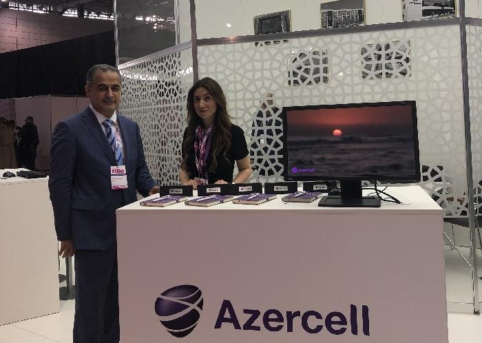 """Azercell """"TİBO-2019"""" beynəlxalq sərgi-forumunda"""