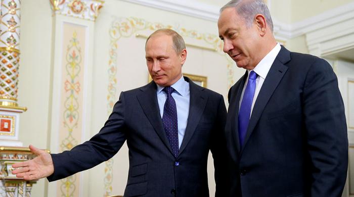 Netanyahu Moskvaya gedir